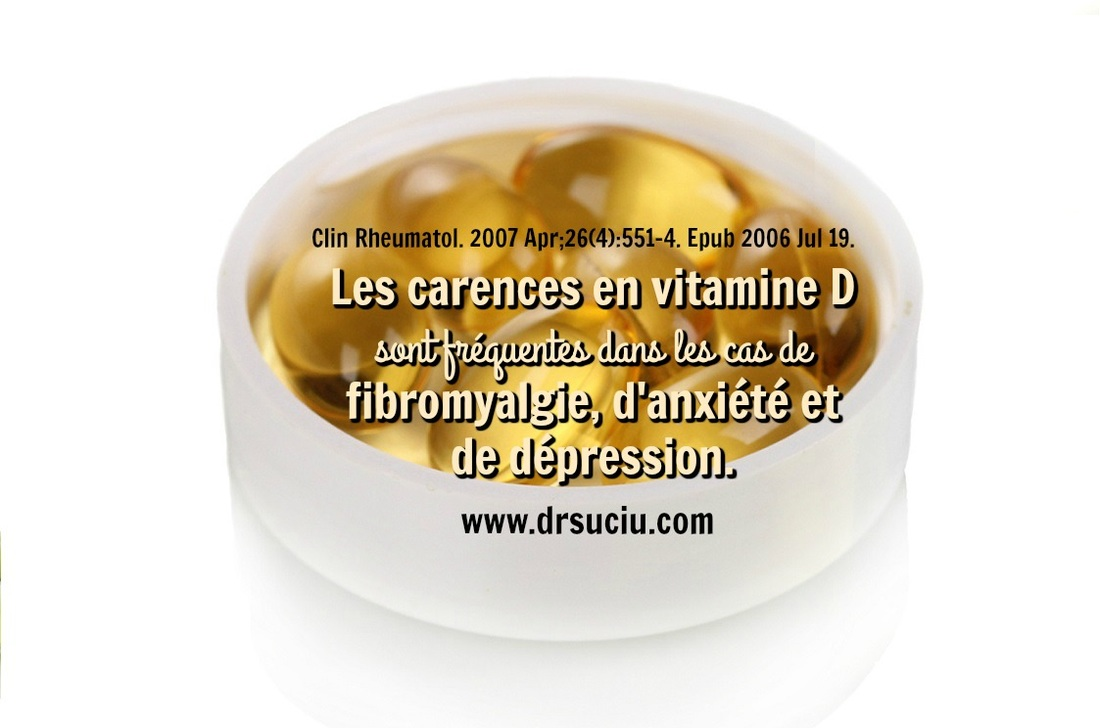 Photo vitamine D et la fibromyalgie drsuciu