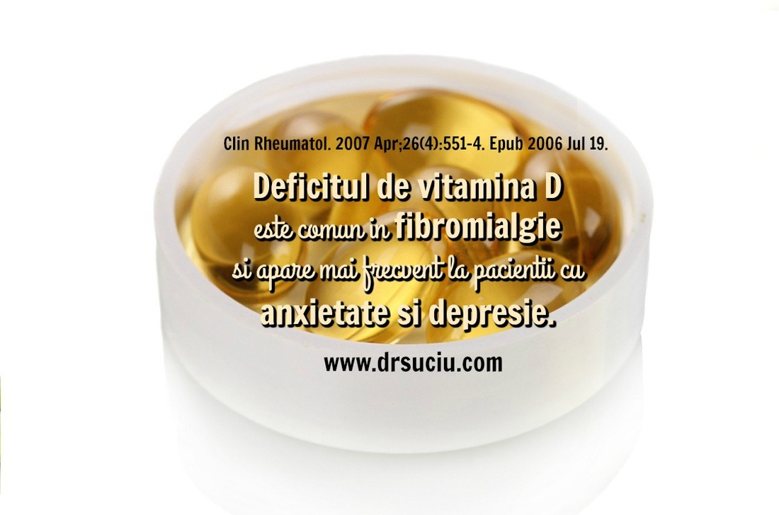 Photo vitamina D in fibromialgie - drsuciu