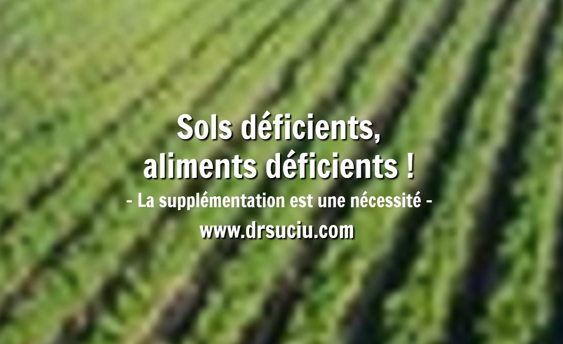 Photo Sols déficients, aliments déficients - drsuciu