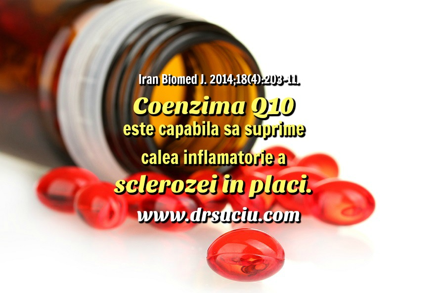 Photo drsuciu Coenzima Q10, inflamatia si scleroza in placi