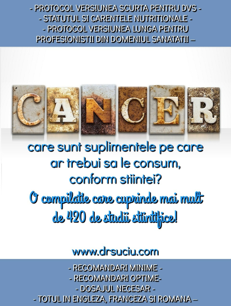 Photo drsuciu_protocol_cancer