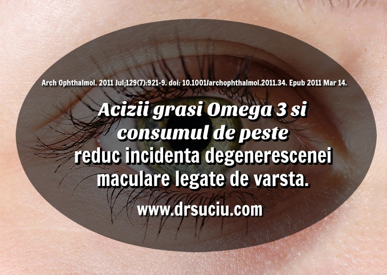 Photo drsuciu acizii grasi Omega 3 reduc incidenta degenerescentei maculare